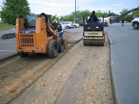 Equipment patch work 011 - Asphalt Paving Services