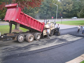 Paving Photos at Pan Am 005 - Asphalt Paving Services