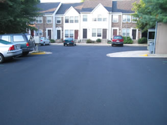 asphalt paving project 4 after