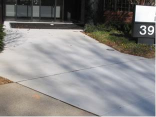 fairfax concrete paving contractor work