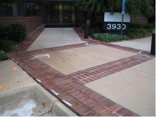 fairfax concrete contractor sample work