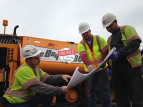Espina Paving experienced field foreman